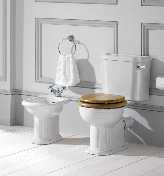 Belgravia bidet and WC for the classic bathroom