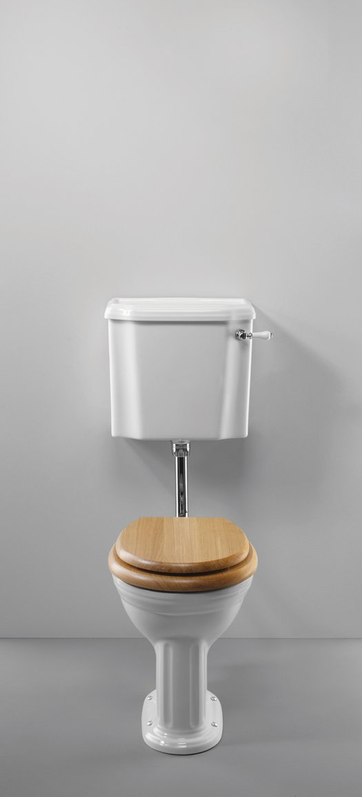 Stylish WC with low level cistern Belgravia