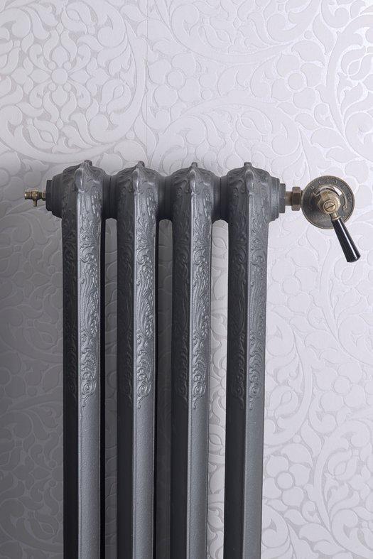 Cast iron radiator in classic style