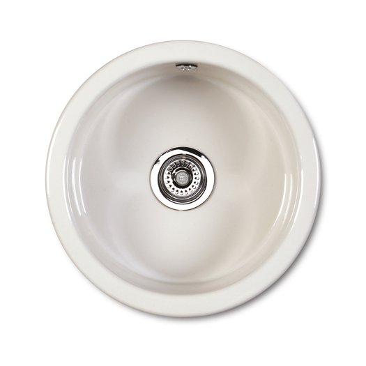 Round kitchen sink - inset or undermount
