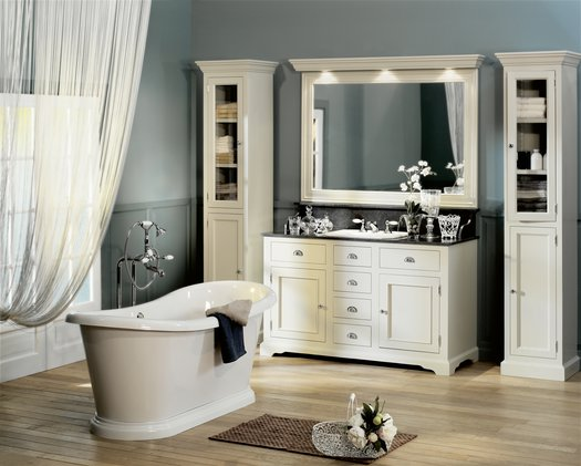 Carlton Vanity Unit for the cottage bathroom with 1 basin
