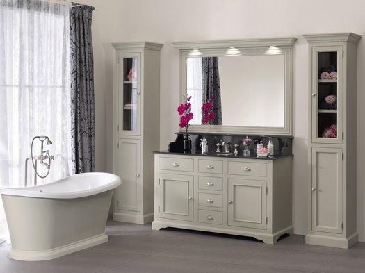 Bathroom Vanity ensemble Carlton with 1 washbasin