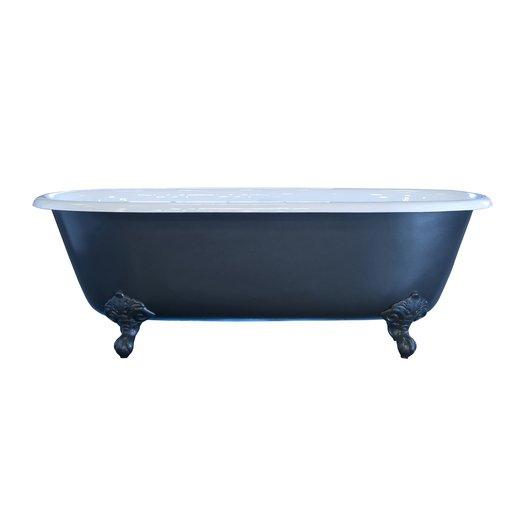 Iron Cast freestanding bathtub Clara on feet