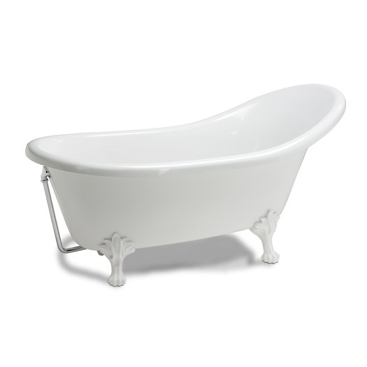 Freestanding country bathtub Clarence II with feet