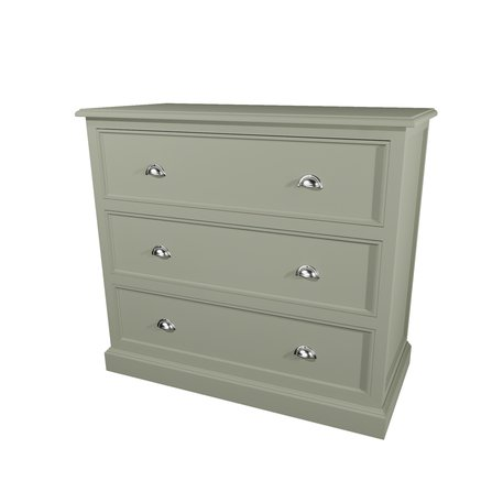 Classic cabinet with 3 drawers 600.18115