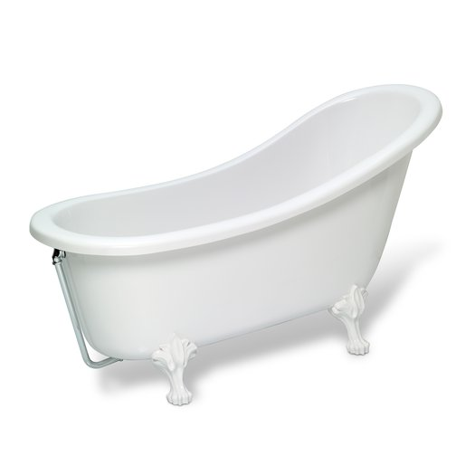 Freestanding Country II bathtub with feet