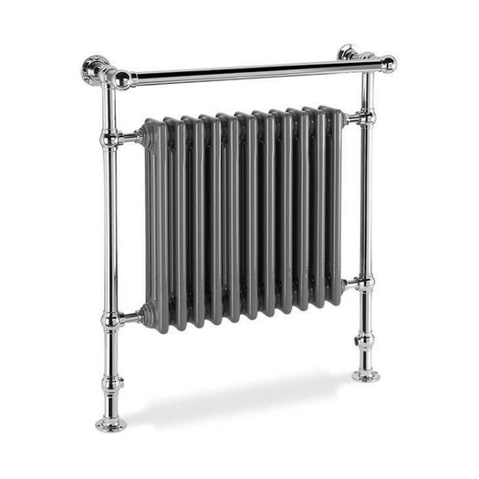 Duchess 2 retro towel rail with radiator