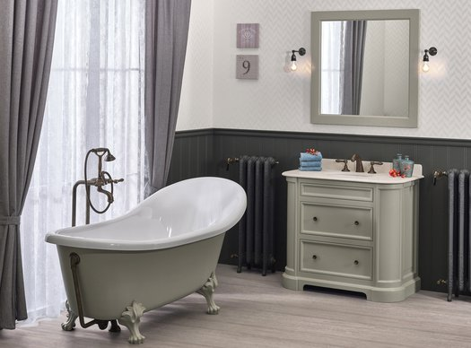 Bathroom furniture Elysée 99 in victorian or renaissance style