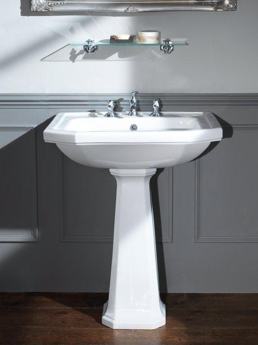 Stylish Empire washbasin for the Art Nouveau style bathroom
