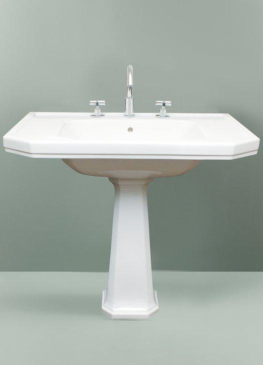 Empire Art Nouveau Washbasin on pedestal