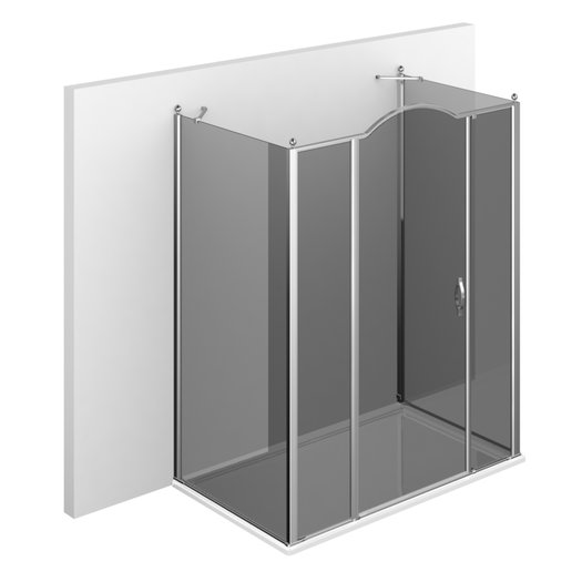 GLG + GLM + GLG Gold U shower setup