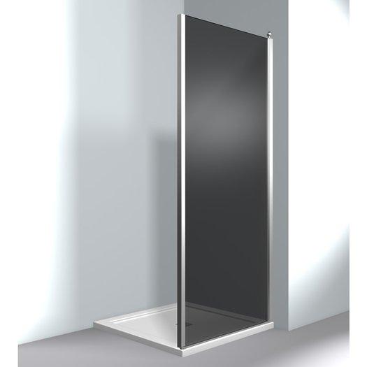 Shower panel for setup in corner or U