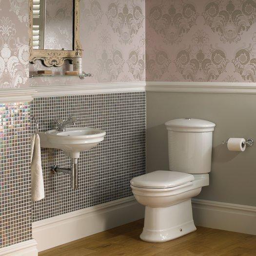 Hillingdon ceramic for the cottage bathroom frame