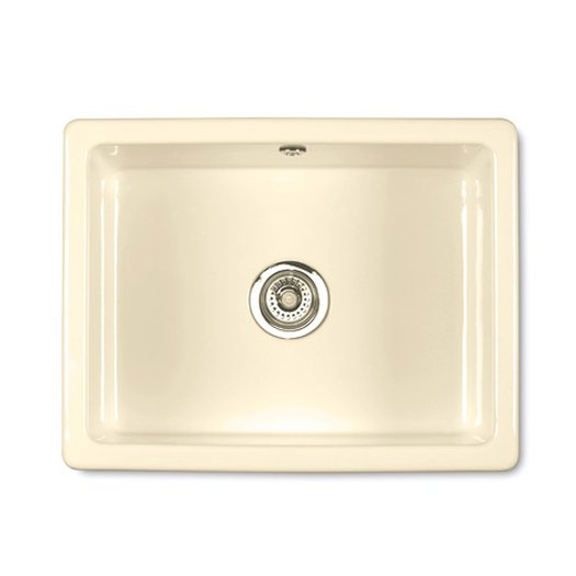 Inset sink in the color Biscuit