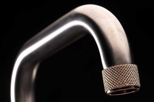 Detail of a Khady design washbasin mixer