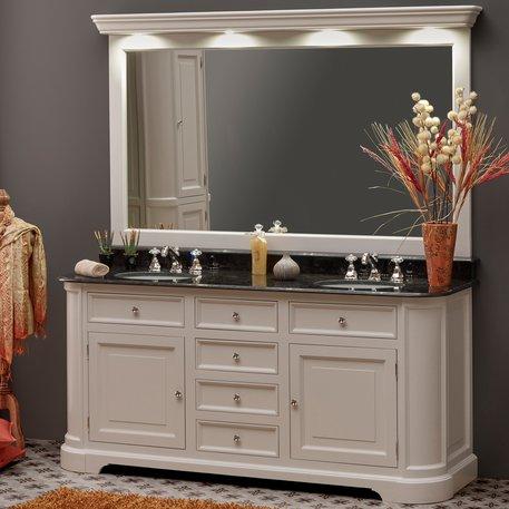 Cottage bathroom furniture frame