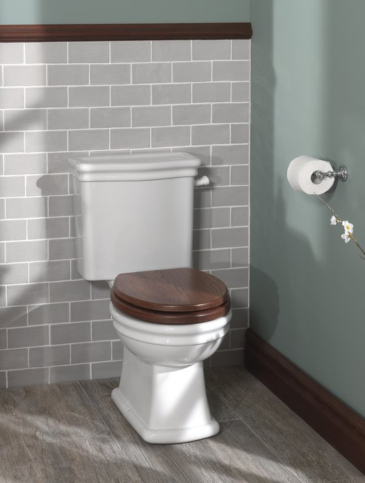 Loxley monobloc toilet for the cottage bathroom