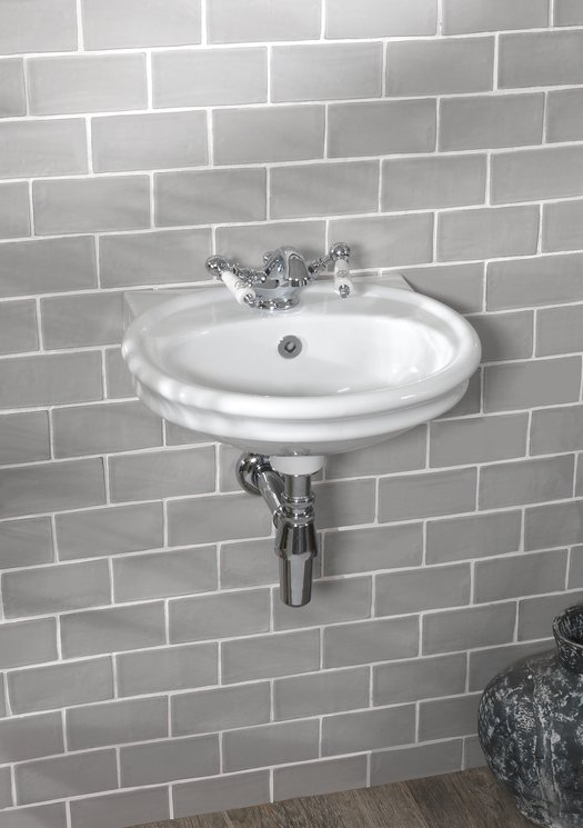 Loxley cloakroom basin for the country style toilet