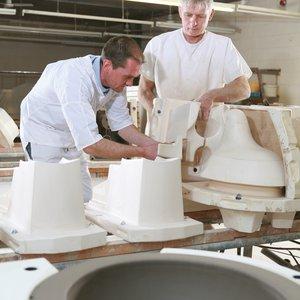 Assembling ceramic