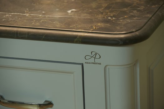 Detail of the Regent 155 classic bathroom furniture