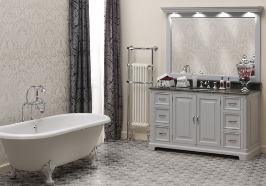 Regent 155 classic bathroom furniture with a timeless appearance