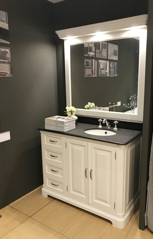 Regent 118 compact, elegant bathroom furniture