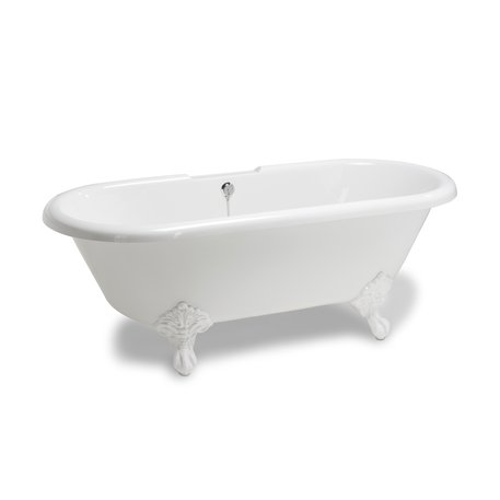 Freestanding Romance bath with feet for the romantic bathroom