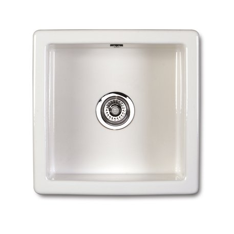 Square kitchen sink of 46 x 46 cm