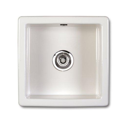 Square kitchen sink of 46 x 46 cm