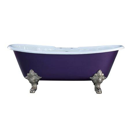 Cast Iron bathtub Shannon with feet