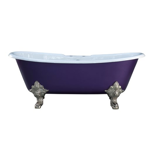 Cast Iron bathtub Shannon with feet