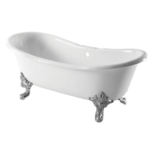 Cast Iron bathtub Shannon in primer or ral color