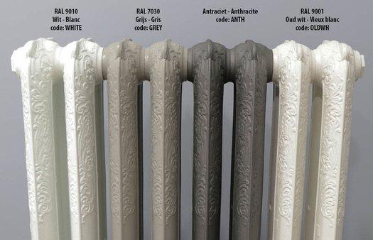 Standard colors Brannon radiators