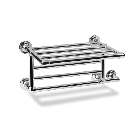 Style 1 towel dryer with shelf for towels