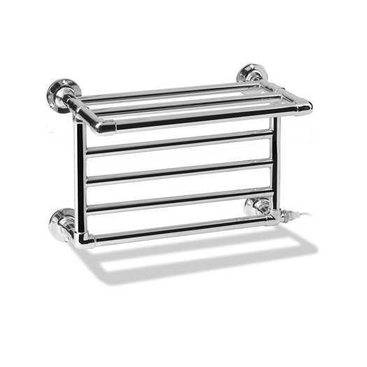 Style 2 towel heater with shelf for towels