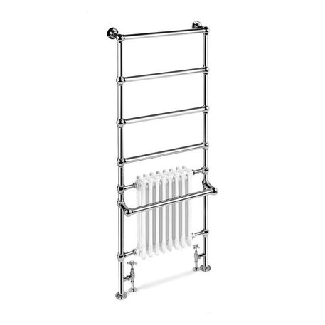 Elegant towel rail for the retro bathroom