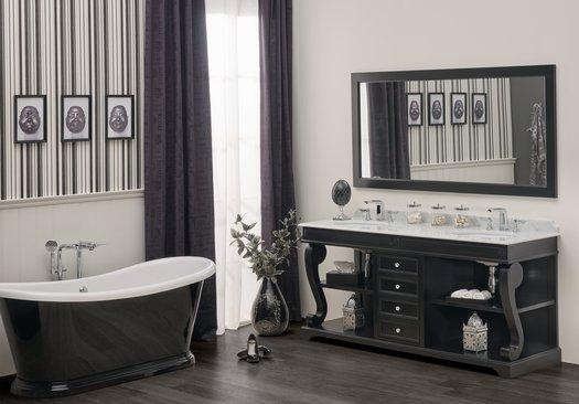 Versailles classic elegant style bathroom furniture