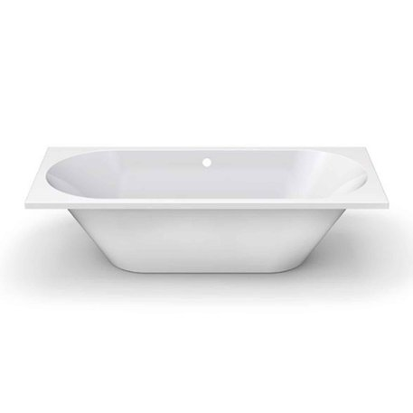 Drop-in bathtub Vibe in shiny or matt white