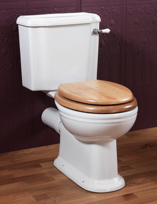 Victorian toilet in cottage style