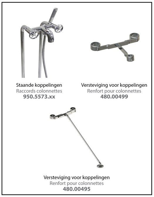 Vloermontage M.Croce 950.2202 - 950.3701