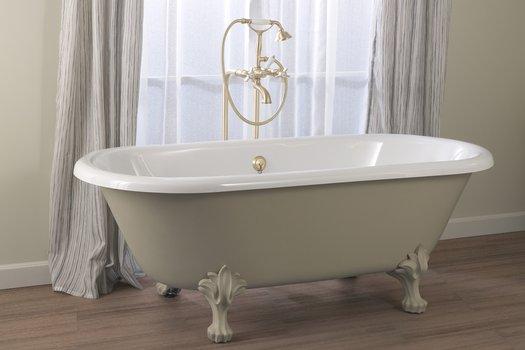 Baignoire libre sur pieds Winston pour la salle de bain rétro