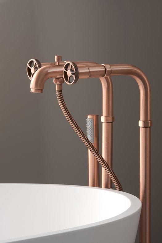 Bathtub mixer on standpipe kit 950.5573