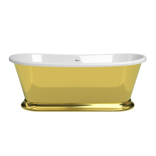 Majestic Gold Liquid metal bathtub