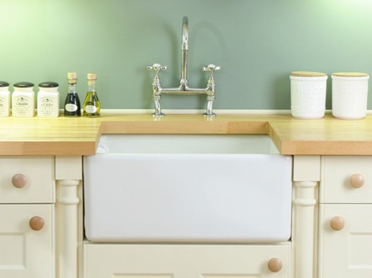 Trendy little sink for the kitchen