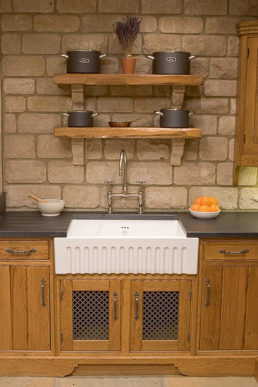 Bowland 600 kitchen sink for the country style kitchen