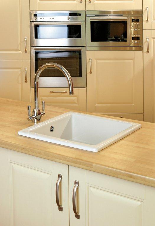 Classic undermount kitchen sink