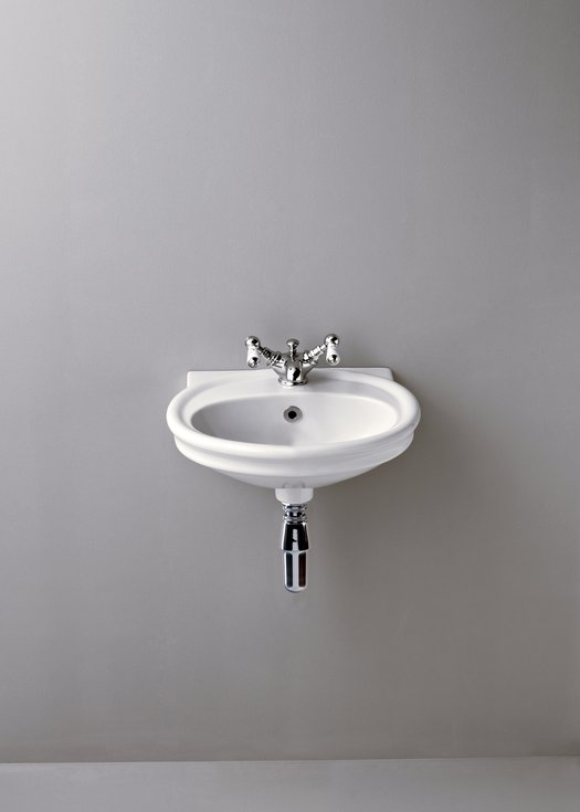 Cloakroom basin for the country style bathroom or toilet