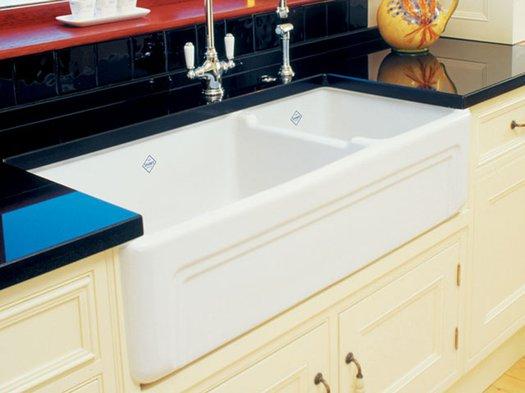 Stylish retro kitchen sink Egerton
