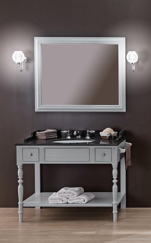 Louis-philippe klassieke stijl open wastafelmeubel met 1 waskom