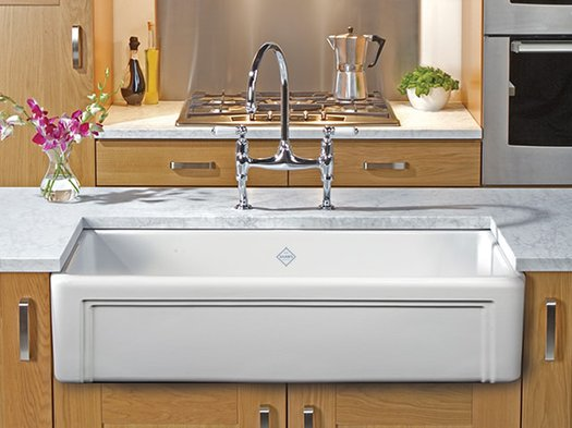 Entwistle country style kitchen sink